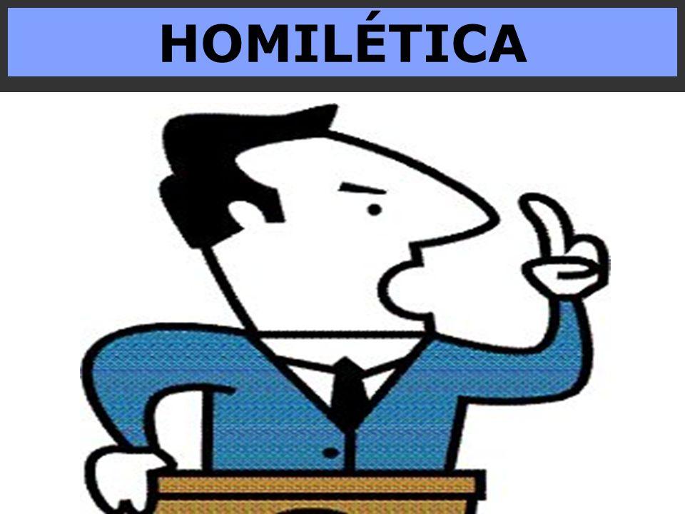 CONCEITO O termo homilética (gr.