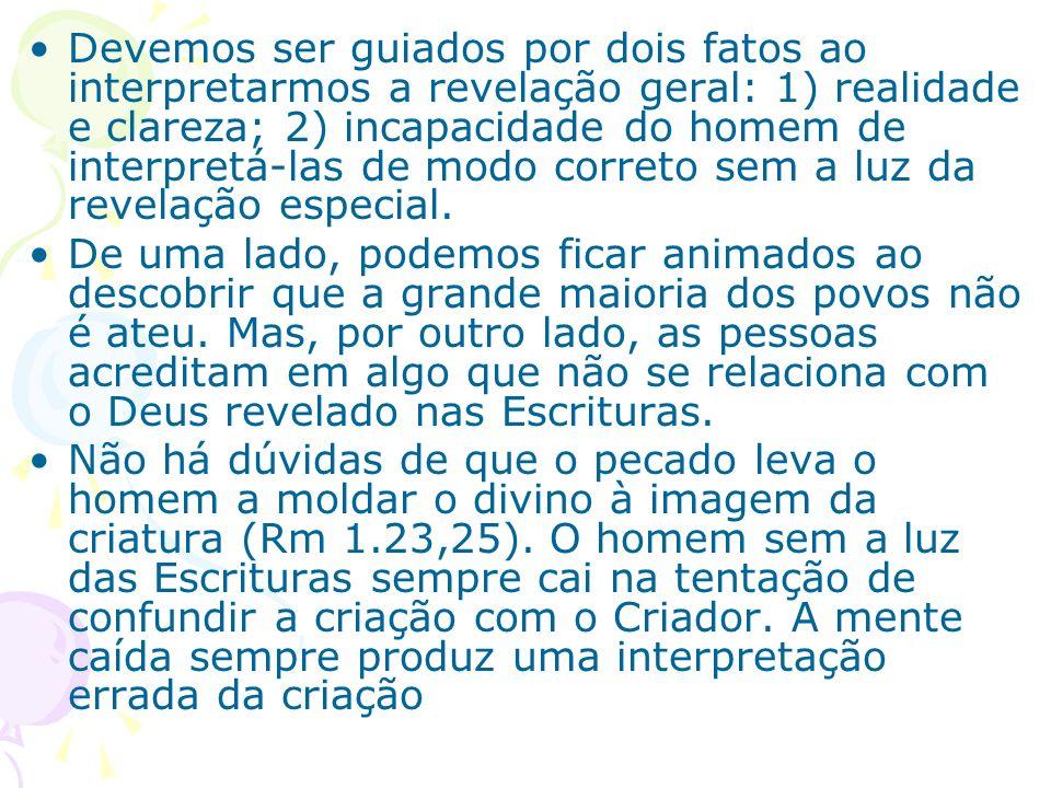 I.O animismo e as religiões afro-brasileiras Em Gênesis, o sol, a luz, as estrelas, os animais, e etc, são descritos apenas como objetos criados.