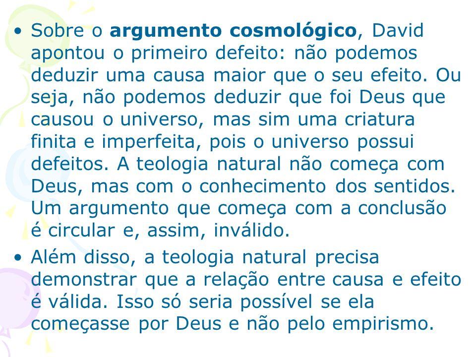Os problemas da teologia natural não significam que devemos entregar o terreno aos ateus.