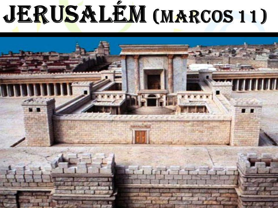 A entrada triunfal de jesus em jerusalém (marcos 11.1-11) A soberania de Jesus ao entrar exatamente do jeito que Ele queria.A soberania de Jesus ao entrar exatamente do jeito que Ele queria.