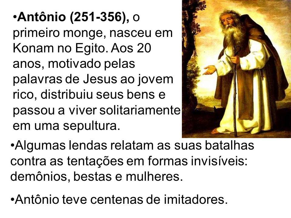 Antônio teve centenas de imitadores. Algumas lendas relatam as suas batalhas contra as tentações em formas invisíveis: demônios, bestas e mulheres. An