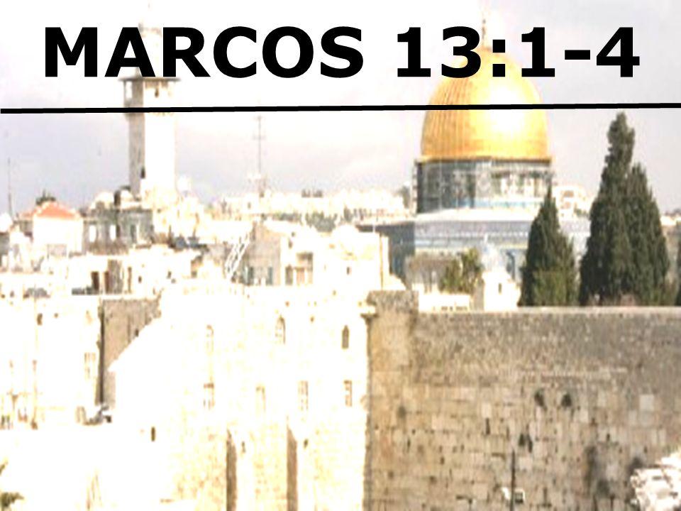 MARCOS 13:1-4
