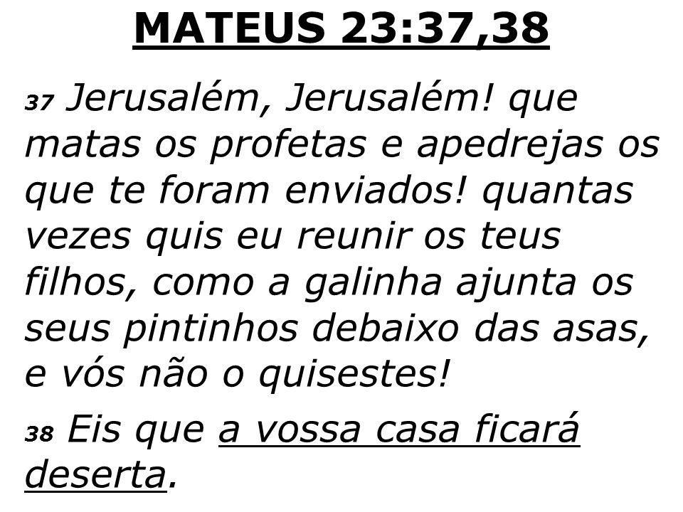 LUCAS 21:20-24 20 Quando, porém, virdes Jerusalém sitiada por exércitos, sabei que está próxima a sua devastação.