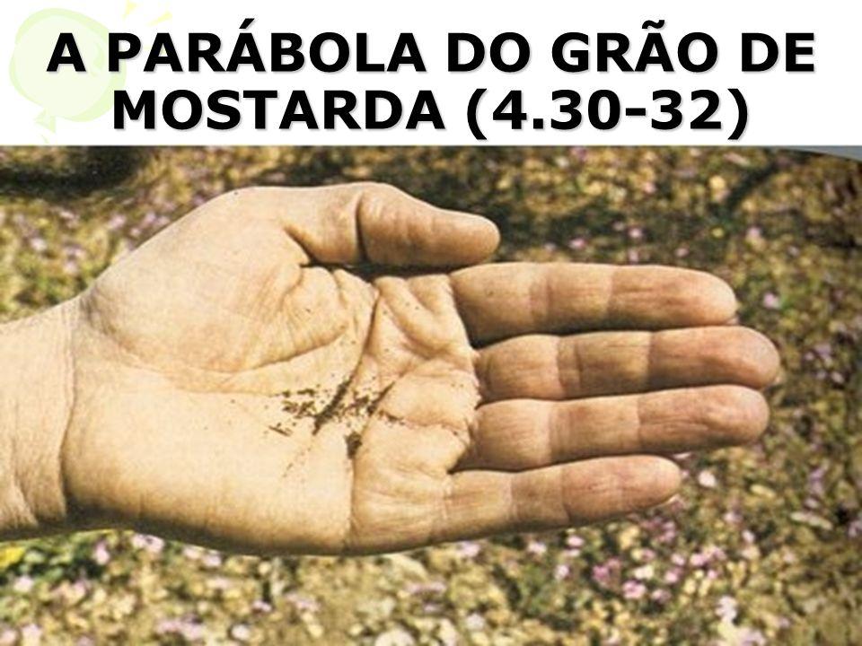 A PARÁBOLA DO GRÃO DE MOSTARDA (4.30-32)