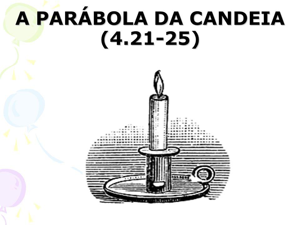 A PARÁBOLA DA CANDEIA (4.21-25)