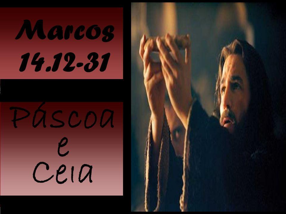 Marcos 14:12 Onde Jesus passou a quarta-feira.Duas festas: Páscoa e Pães Asmos.