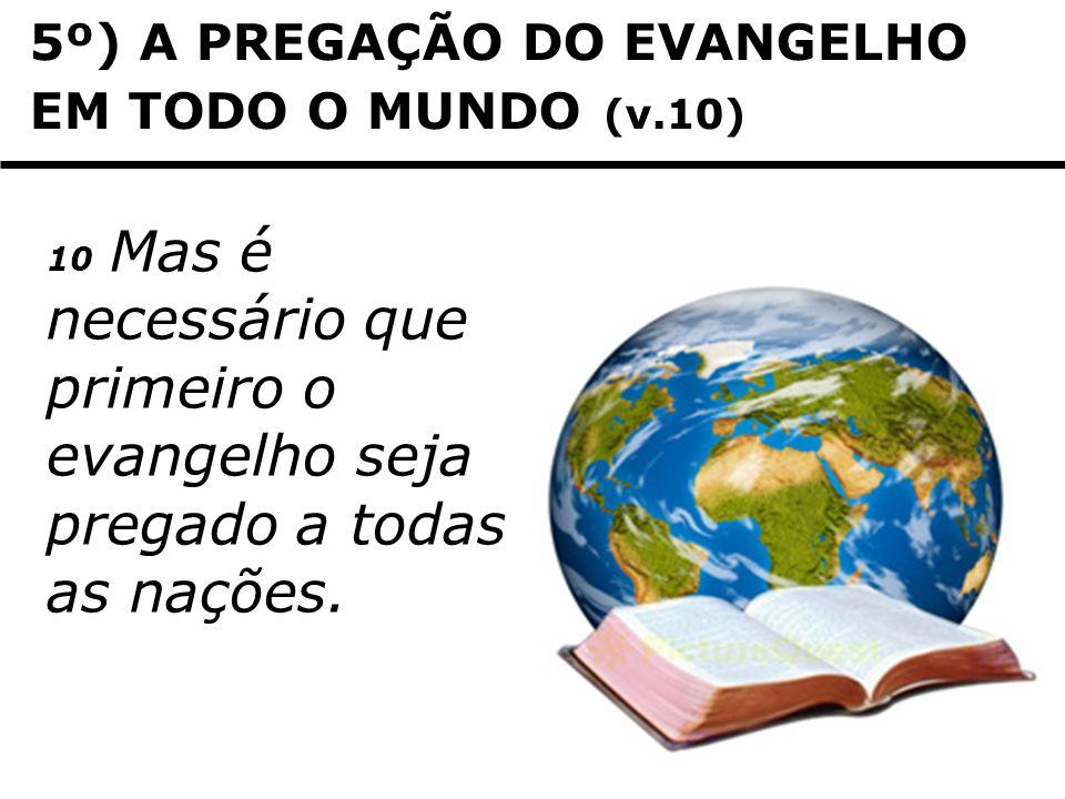 6º) DIVISÃO NA FAMÍLIA (v.12) 12 Um irmão entregará à morte outro irmão, e o pai, ao filho; filhos haverá que se levantarão contra os progenitores, e os matarão.
