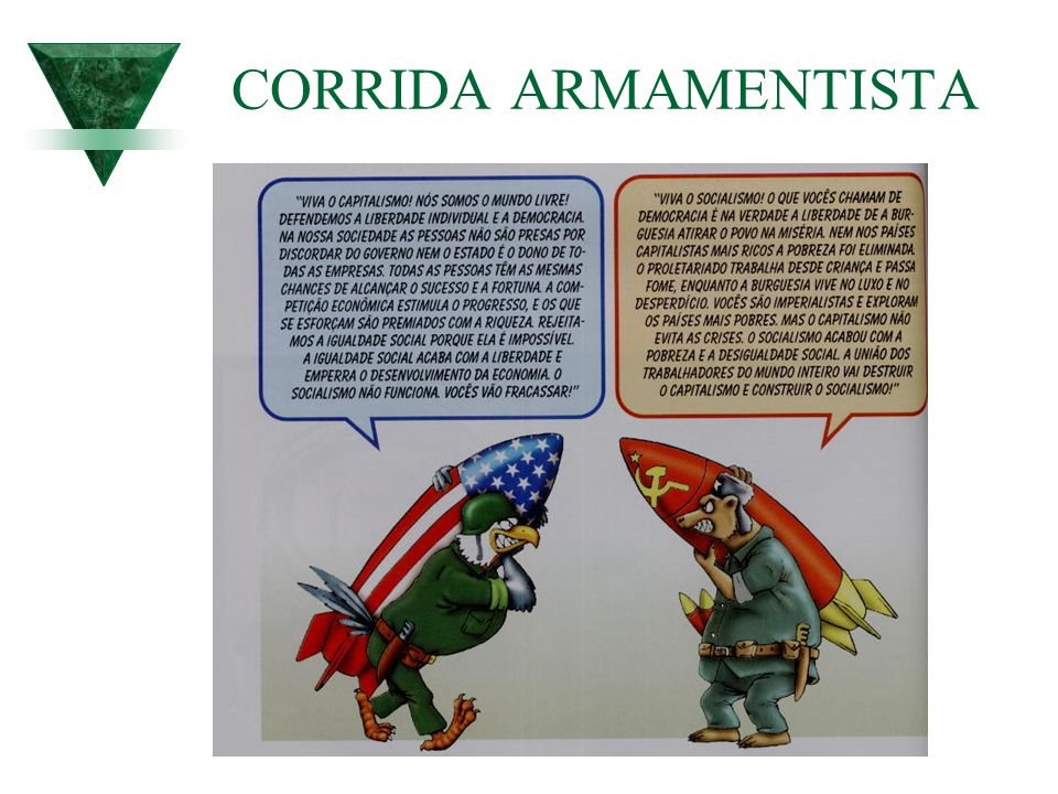 CORRIDA ARMAMENTISTA