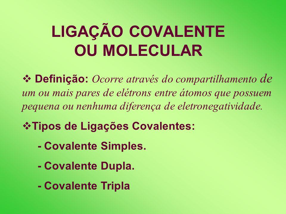Exercícios de fixação: 3. Os compostos iônicos, como o cloreto de sódio, apresentam as propriedades: a) Líquidos nas condições ambientais, bons condut