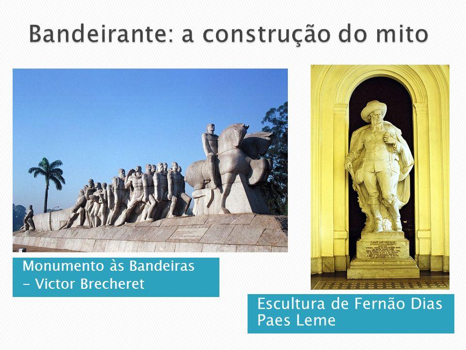 Monumento às Bandeiras - Victor Brecheret Escultura de Fernão Dias Paes Leme