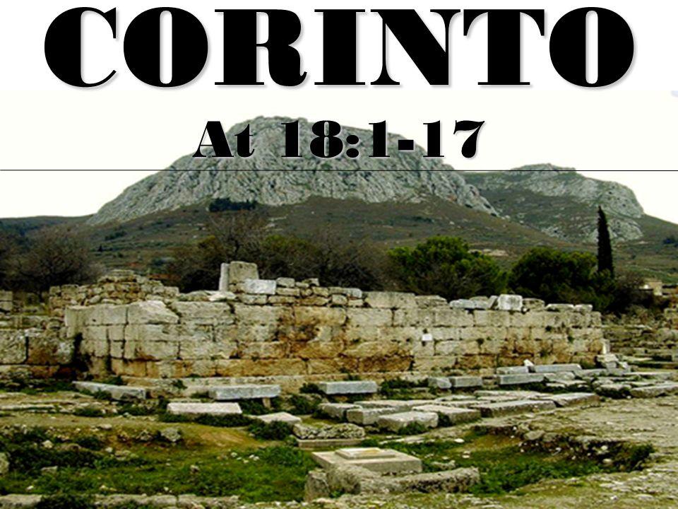CORINTO At 18:1-17
