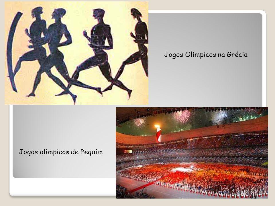 Jogos Olímpicos na Grécia Jogos olímpicos de Pequim