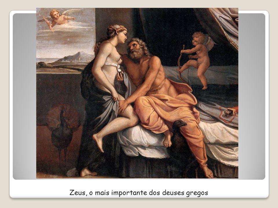 Zeus, o mais importante dos deuses gregos