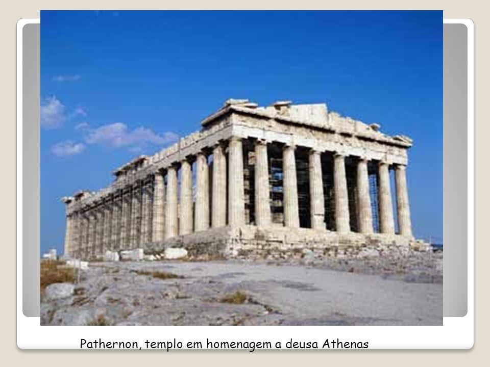 Pathernon, templo em homenagem a deusa Athenas