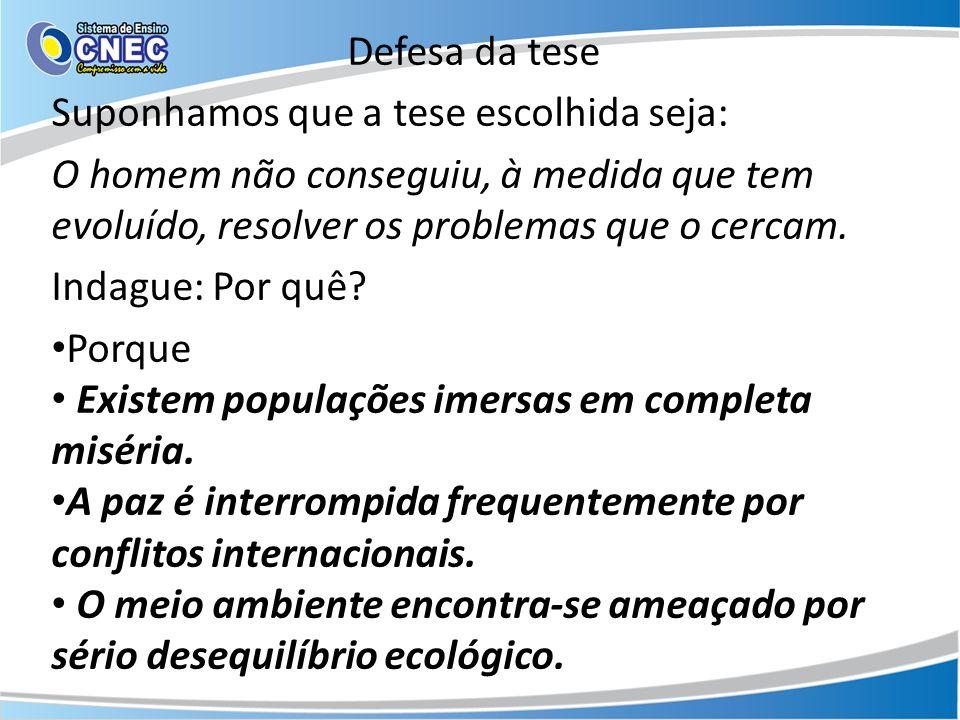 Opção de estrutura 1º parágrafo Contextualização + tese Introdução 2º parágrafo 3º parágrafo 4º parágrafo Desenvolvimento do argumento 1 Desenvolvimento do argumento 2 Desenvolvimento do argumento 3 ( se houver) Desenvolvimento 5º parágrafo Reafirmação da tese+ proposta de intervenção ( a partir da tese) Conclusão