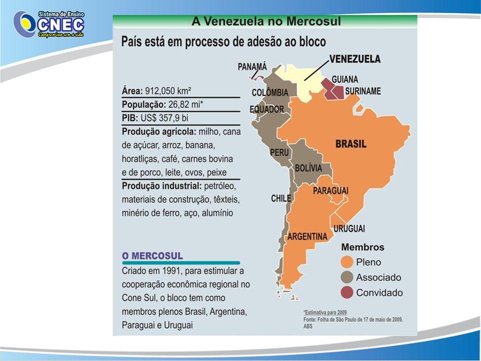 Integração regional.