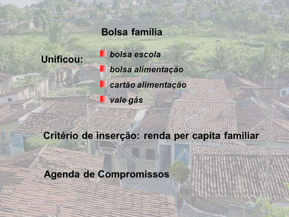 INTRODUÇÃO Programa bolsa família Contextualizando a USF JM II/ 2004 Lei nº 10.836 de 9 de janeiro 2004
