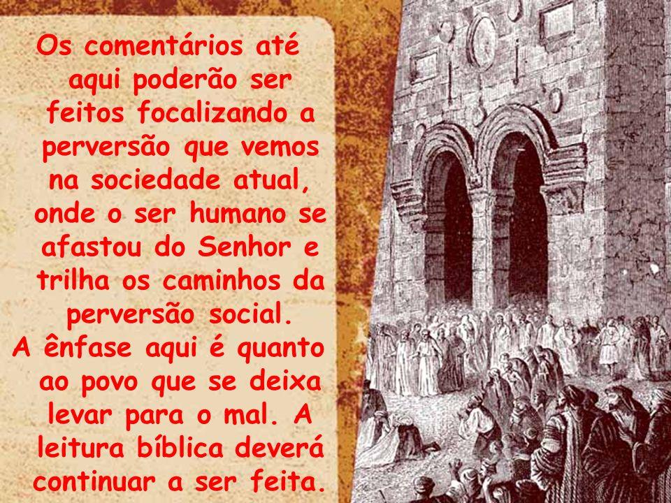 4.12 – A visão de um povo distante de Deus O meu povo consulta ao seu pau, e a sua vara lhe dá respostas, porque o espírito de luxúria os enganou, e eles, prostituindo-se, abandonaram o seu Deus