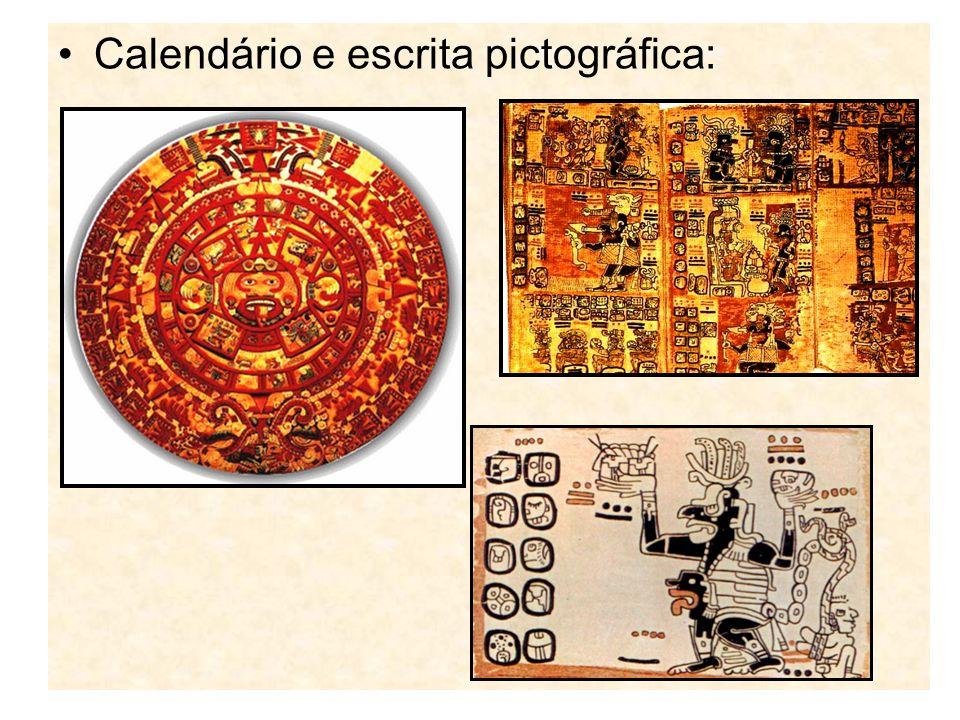 Calendário e escrita pictográfica: