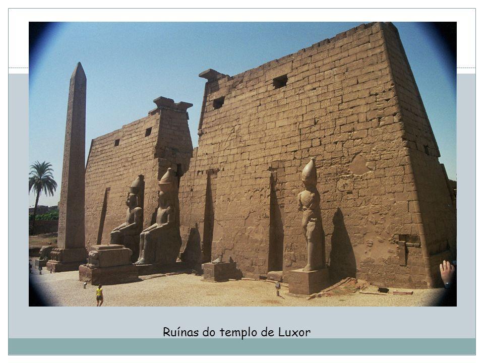 Ruínas do templo de Luxor