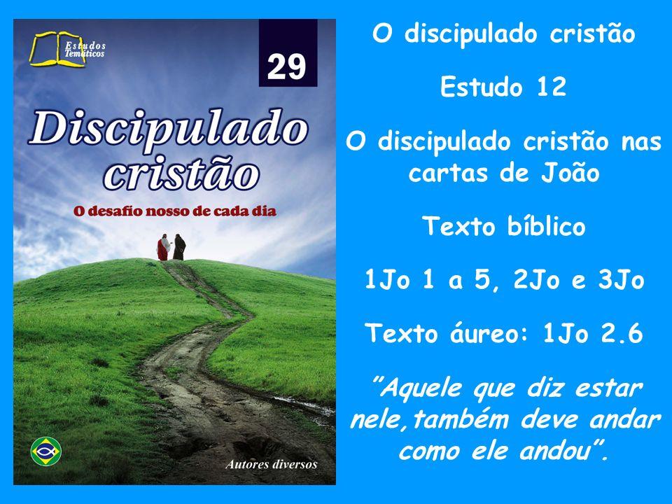 Introdução (I) Na lição de hoje estaremos estudando o texto que podemos reconhecer, como vindo daquele que foi o discípulo por excelência do Senhor Jesus.