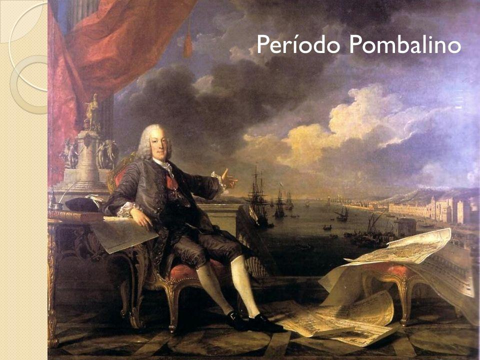 Marquês de Pombal Sebastião José de Carvalho e Melo Primeiro ministro de Portugal (1750 – 77) Despotismo esclarecido Racionalização da máquina burocrática Espanha: despotismo esclarecido Aranda Manuel de Godoy