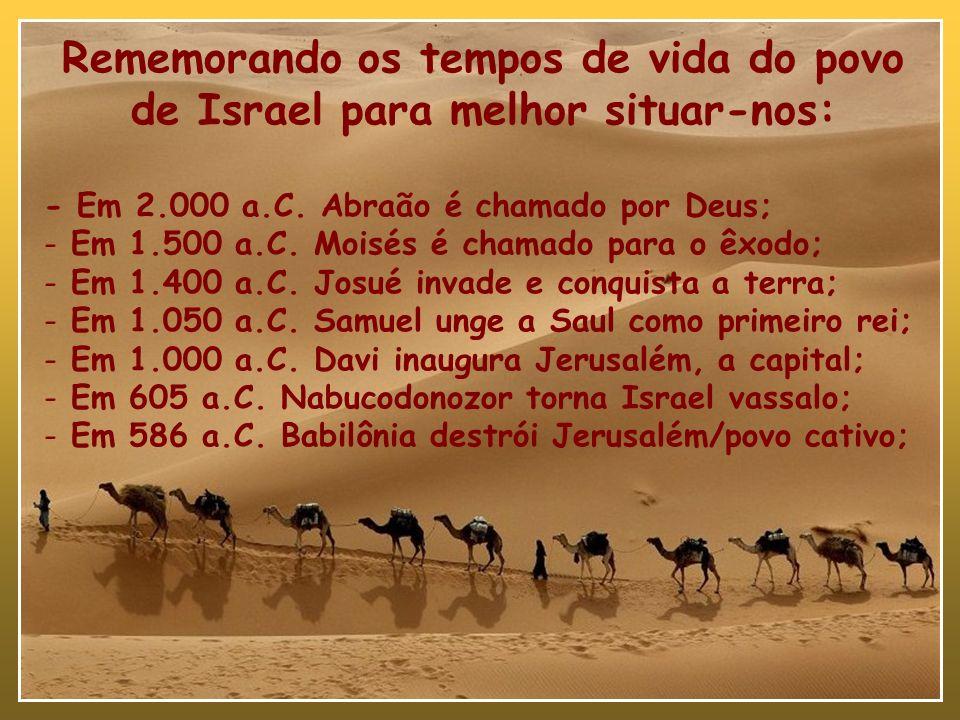 A RESTAURAÇÃO DE ISRAEL Estudo 01 – Apresentação O tempo do retorno 2Crônicas 36.22,23; Esdras 1 e 2