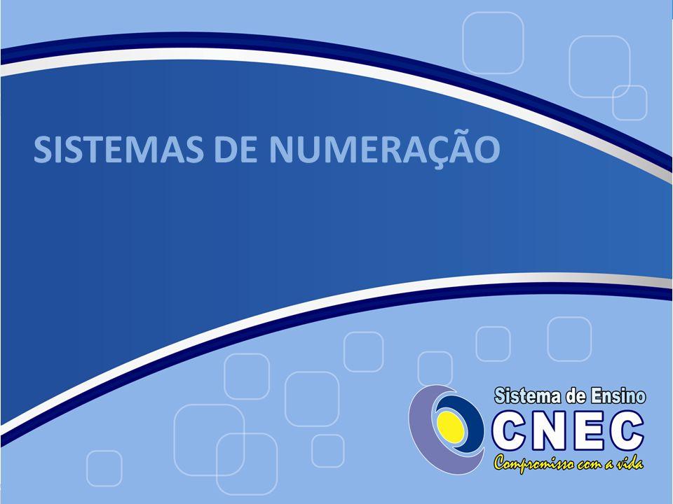 A grande vantagem desse sistema de numeração é que, com apenas 10 símbolos, representa-se toda a infinidade de números existentes, quer sejam eles inteiros, decimais ou fracionários.