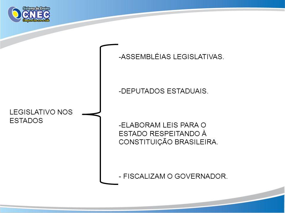 LEGISLATIVO MUNICIPAL -CÂMARA DE VEREADORES.