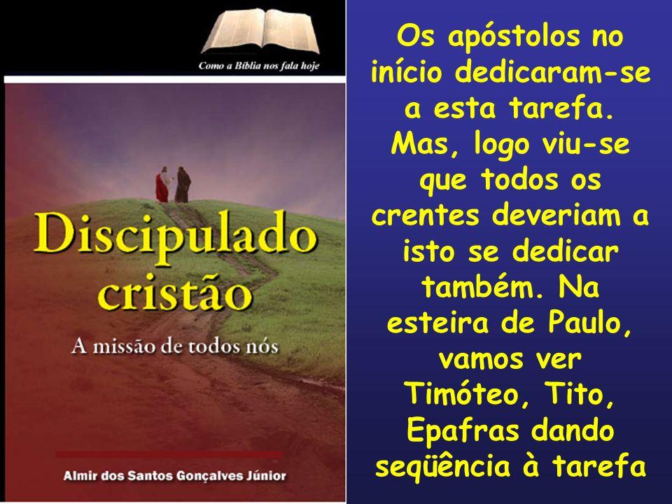 Introdução (II) Escreve o autor dos estudos: Pastor Nilton de Souza O discipulado é a mais importante atividade da igreja, e, por conseguinte, de cada crente.