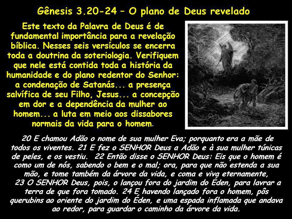 Este texto da Palavra de Deus é de fundamental importância para a revelação bíblica. Nesses seis versículos se encerra toda a doutrina da soteriologia