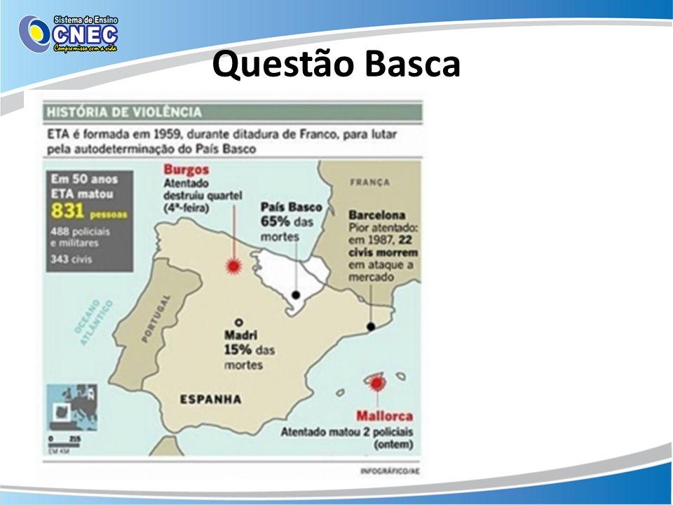 Questão Basca Disponível em: noticias.r7.comnoticias.r7.com Acesso em: 02 out. 2013.