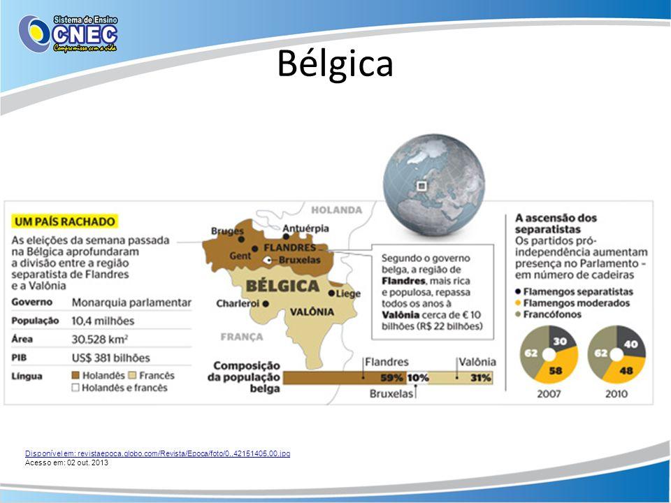 Bélgica Disponível em: revistaepoca.globo.com/Revista/Epoca/foto/0,,42151405,00.jpg Acesso em: 02 out. 2013