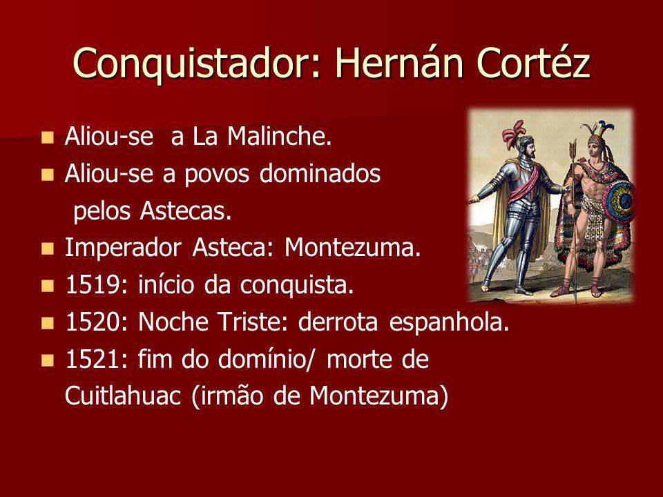 Grupos ou classes sociais Chapetones ou guachupines: espanhóis que compunham a elite colonial.