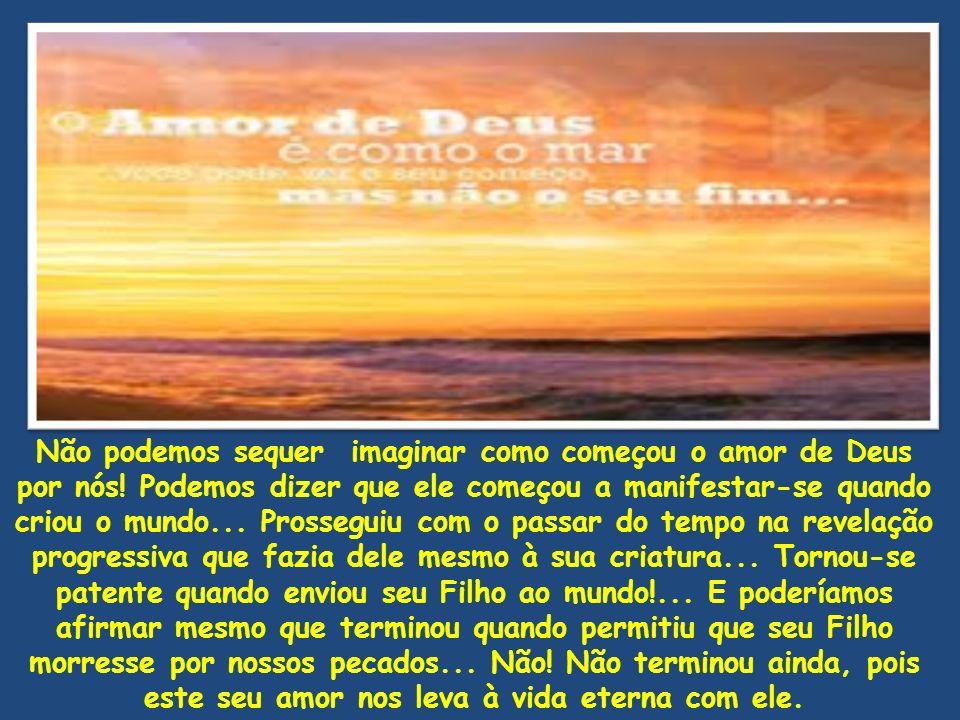 1João 4.17-21 Tal qual ele é 17 Nisto é perfeito o amor para conosco, para que no dia do juízo tenhamos confiança; porque, qual ele é, somos nós também neste mundo.