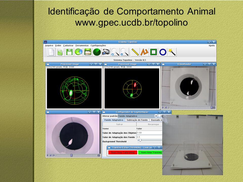 Identificação de Comportamento Animal www.gpec.ucdb.br/topolino