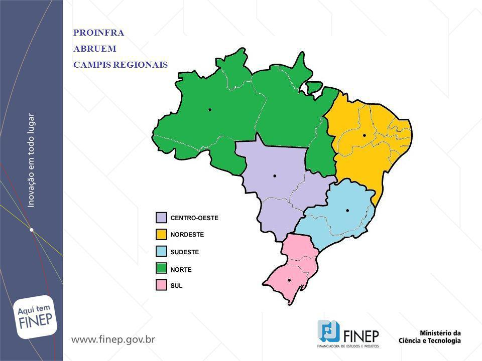PROINFRA ABRUEM CAMPIS REGIONAIS