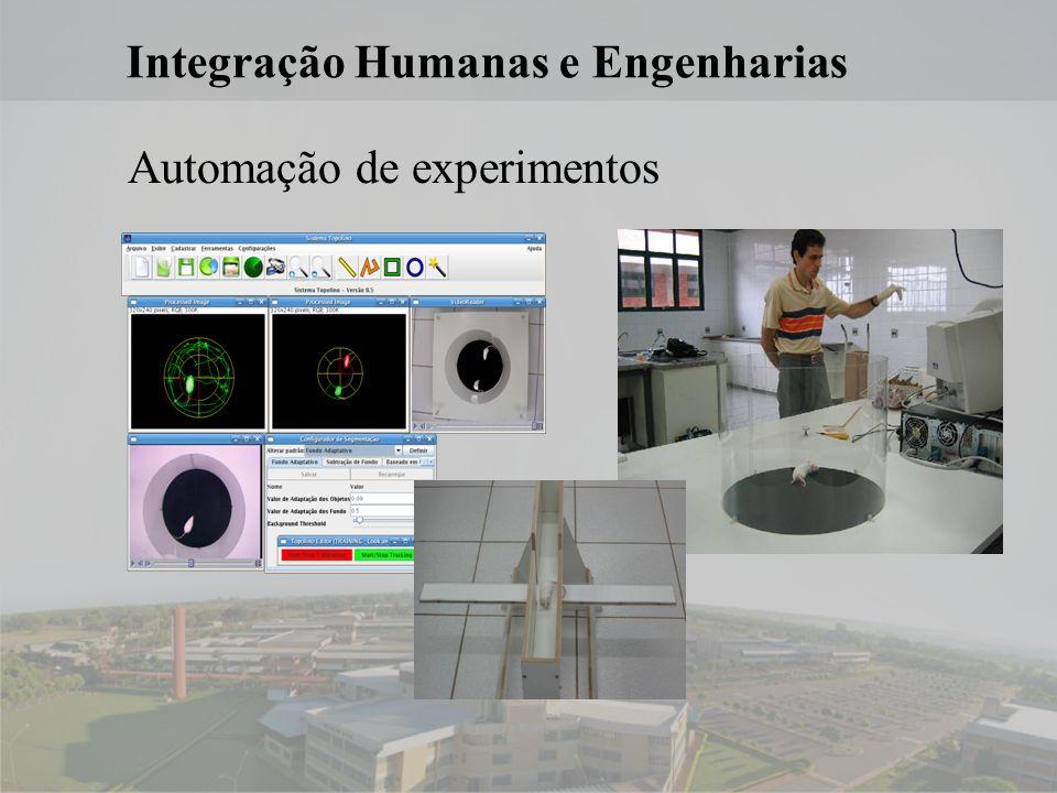 14 Integração Humanas e Engenharias Automação de experimentos