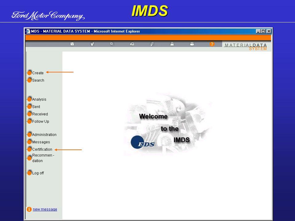Tela principal do IMDSIMDS