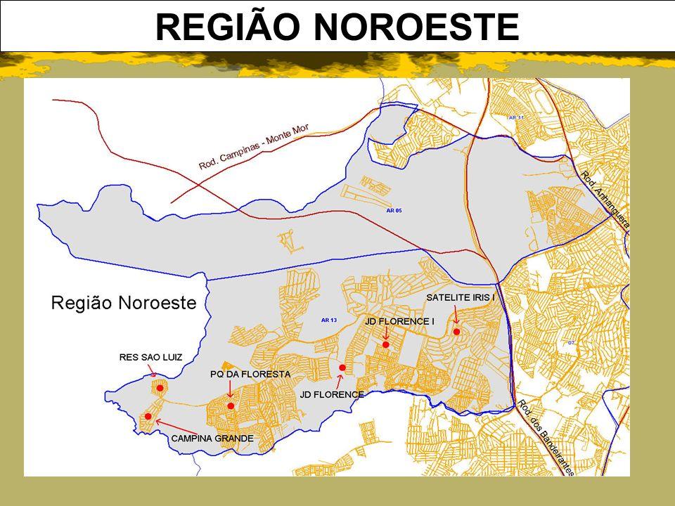 REGIÃO NOROESTE