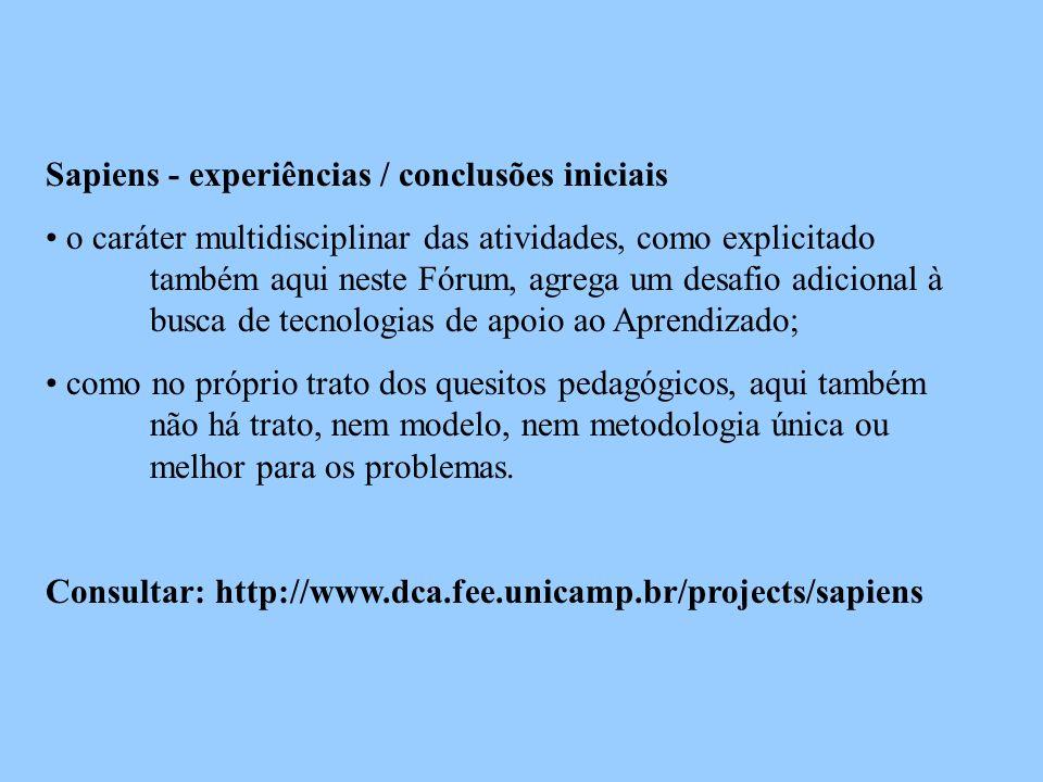 Sapiens - equipe Angel Pino Sirgado - LITE/FE Carlos M.
