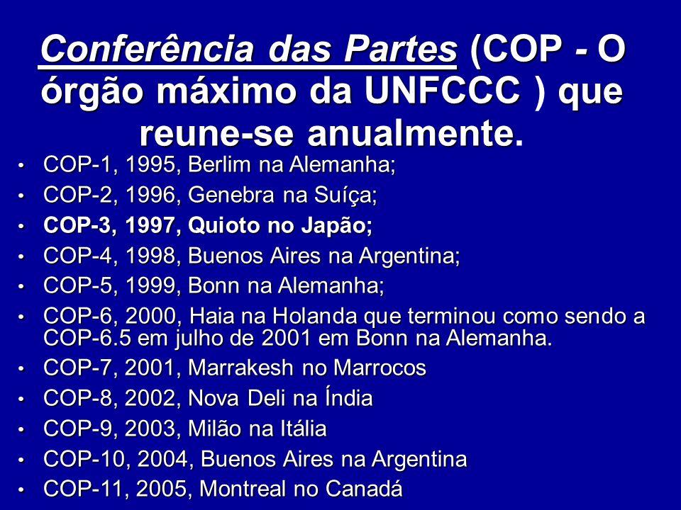 Convenção Quadro da ONU sobre Mudança Climática (1992) O que é.