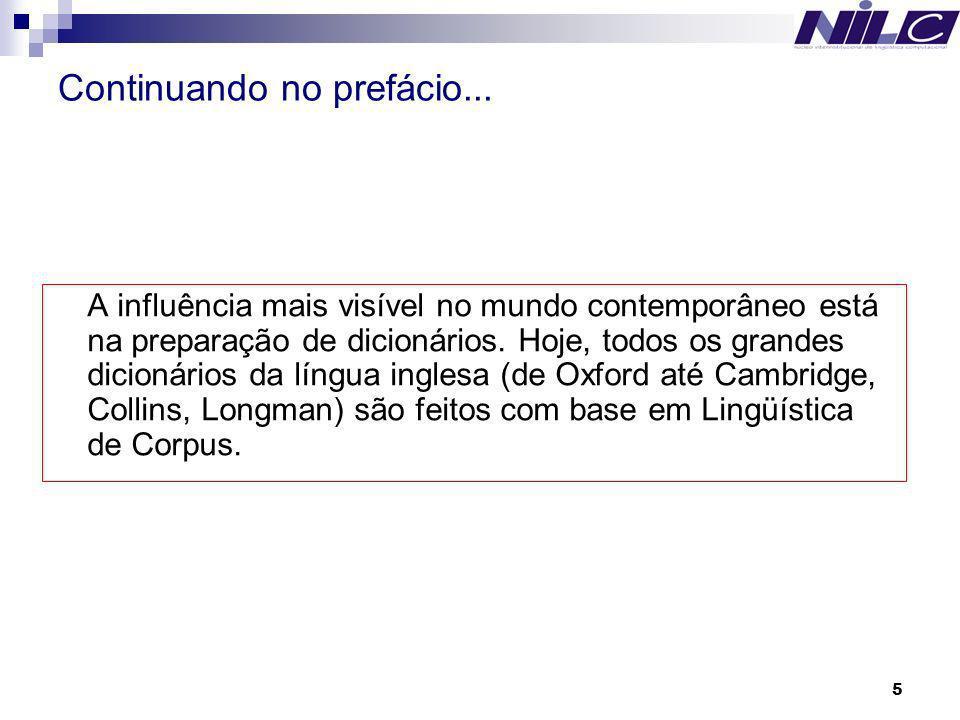 6 Para o português do Brasil...