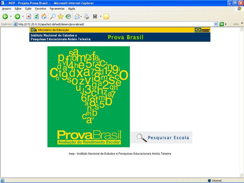 Material de Divulgação http://provabrasil.inep.gov.br http://172.25.0.31/apache2-default/desenv/provabrasil/