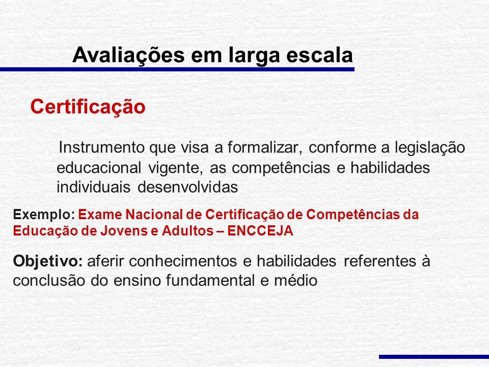 Exemplo: ENEM - 490 instituições de ensino superior usam o resultado do Enem no critério de seleção de candidatos a seus cursos de graduação - ProUni