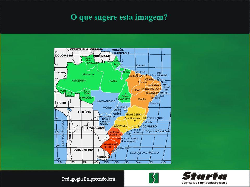 Pedagogia Empreendedora Uma metáfora: qual seria o mapa das relações sociais no Brasil.