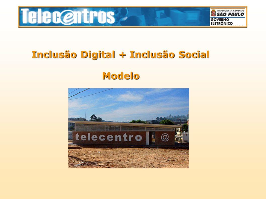Inclusão Digital + Inclusão Social Modelo