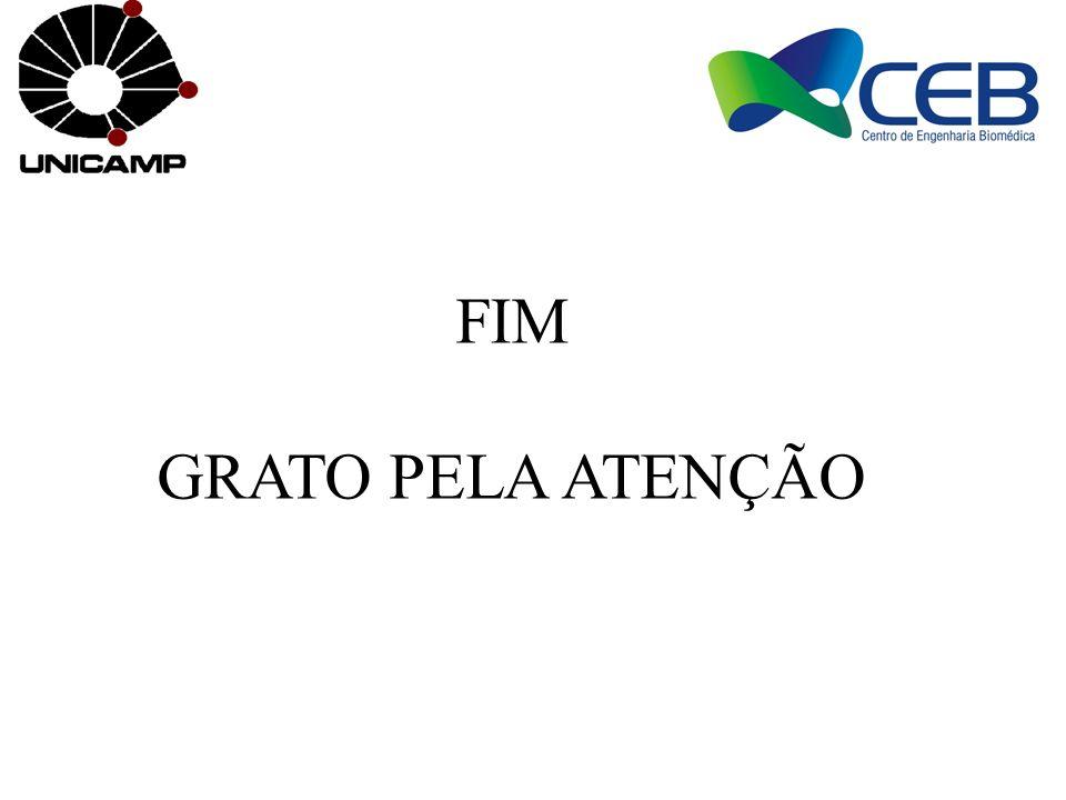 FIM GRATO PELA ATENÇÃO