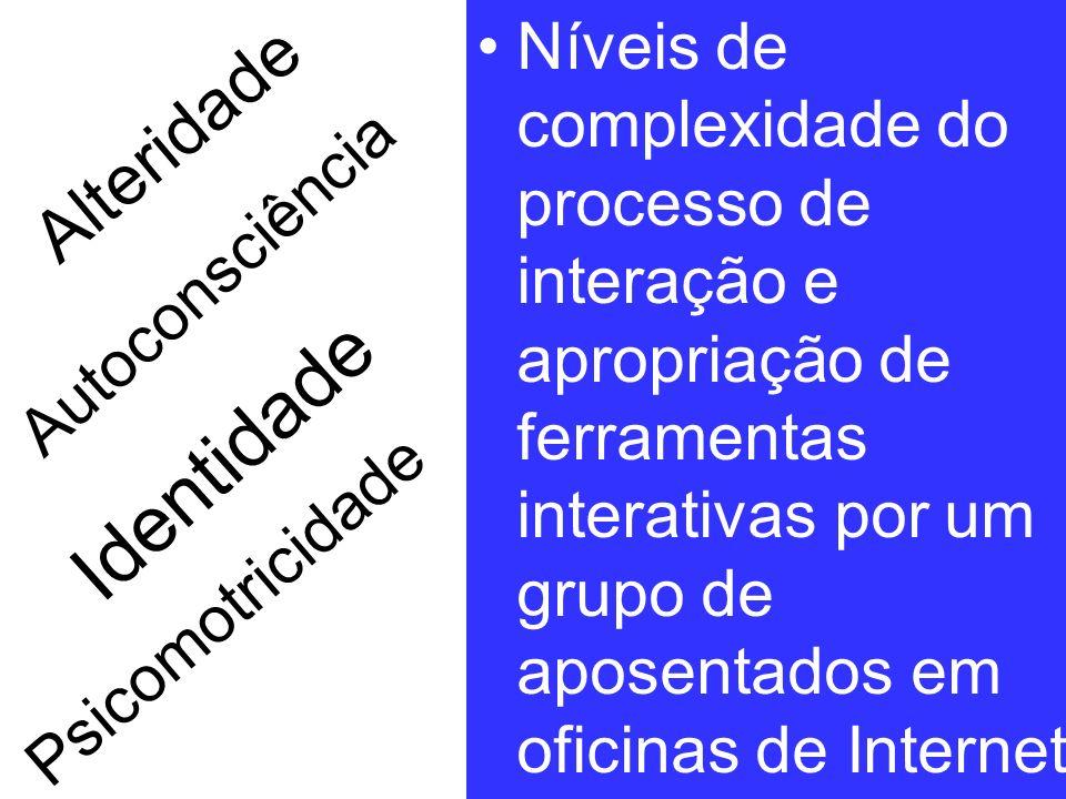 EPIDOSO O estudo de coorte EPIDOSO, com 1667 idosos de São Paulo, 1991acompanhados por 10 anos foi escolhido paraser epidemiologicamente analisado por níveis de complexidade [Xavier, 2003]: Nível 1: Psicomotricidade: desenvolvimento do movemento organizado.