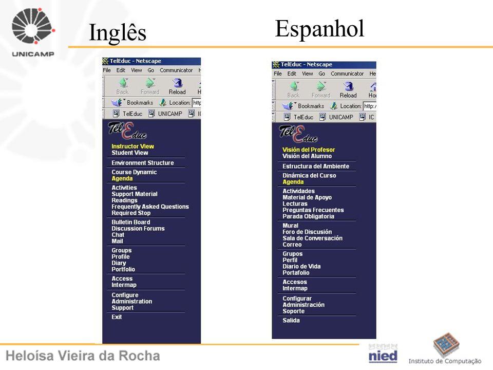 Inglês Espanhol